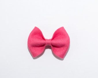 Large Bow in Lipstick
