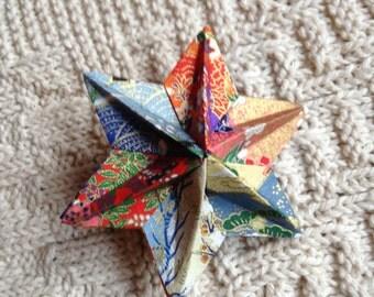 Modular origami star - Dominanta