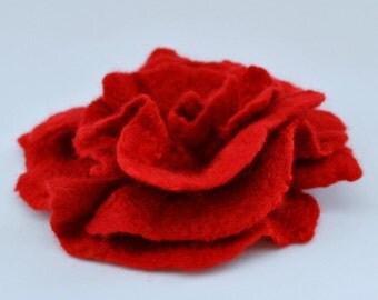 Brooch / Handmade felted Brooch / Merino Wool