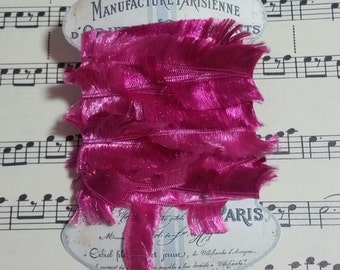 Silky Fur Like Trim for use in Journals, Scrapbooks, Mixed Media, Collage