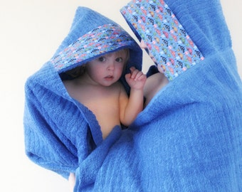 Hooded Towel - Towel Hoodie - Boys Hooded Towel - Adult Hooded Towel - Extra Large Hooded Towel - Father Son Gift - Big Brother Gift - Towel
