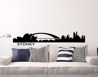 Australia Wall Decal Etsy - Vinyl wall decals australia