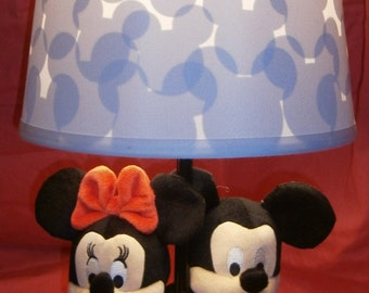 Mickey & Minnie Mouse Lamp