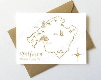 Wedding Map Design, Personalised Wedding Map, Custom Wedding Venue Map, Bespoke Map, Wedding Illustration, PDF, PRINTABLE - WD51