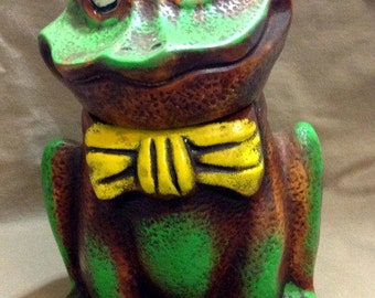 Vintage California Original Frog Cookie Jar