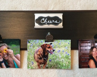 Picture Frame, Photo Display,Wall Picture Holder, Metal Clip Picture Frame,Photo Clip Frame,Unique Picture Display