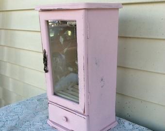 Pink Shabby Chic Jewelry Box