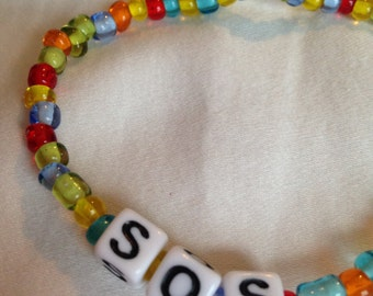 S.O.S bracelet