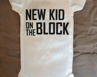 There's a new kid on the block! onesie
