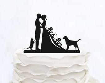 WEDDING CAKE TOPPER _DOG _Weding Cake_Wedding Decoration_Wedding Design_Made in italy