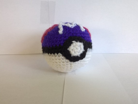 Amigurumi Master Ball : Master Ball Amigurumi by SmallYarns on Etsy