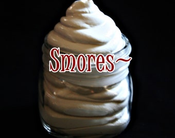 S'mores Whipped Body Butter~Candy Body Butter~S'mores Moisturizer~Summer Body Butter~Anti Aging~Smells Like Summer~Moisturizing Body Butter~