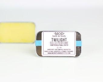 Solid Perfume TWILIGHT Scent Handmade Perfume