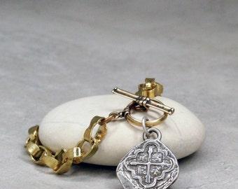 Spanish Galleon Coin Bracelet