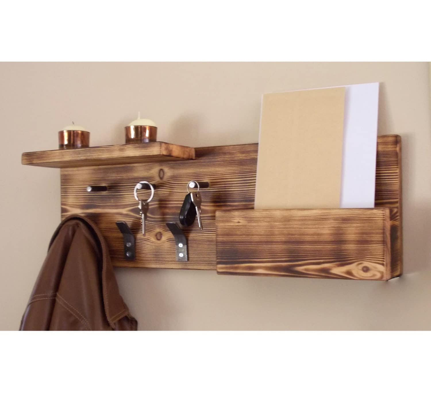 Uncategorized Key Holder For The Wall key holder entryway organizer mail wall coat rack
