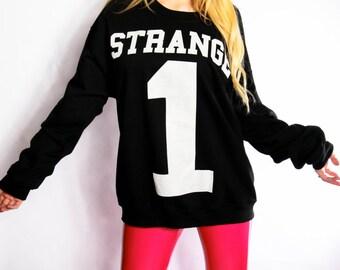 Strange One  Crewneck Sweatshirt