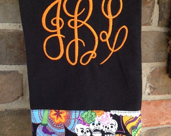 Sugar Skull/Day of the Dead Kitchen Towel