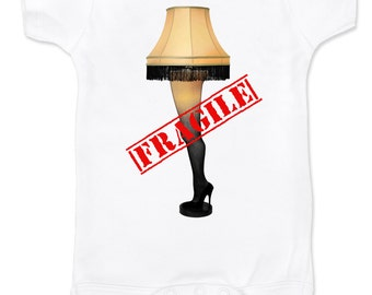 A Christmas Story Leg Lamp Onesie or T-shirt
