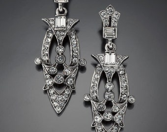 Art Deco Chandelier Earring