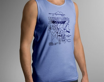 "The Office Inspired ""Threat Level Midnight"" Men's Tank Top"