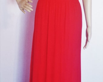Long Dress with elbow sleeve, beautiful for summer,travel much more...