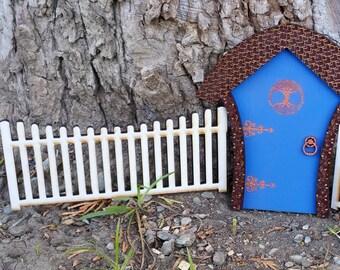 Fairy fence - Fairy Garden - Miniature fence - Terrarium fence - Miniature garden - rustic fence