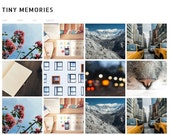 "Blogger Template ""Tiny Memories"" // Instant Digital Download Premade Blog Theme Design"
