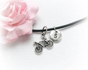 Bicycle Necklace, bike necklace, bicycle Jewellery, bicycle Charm Jewelry,Personalised jewelry, initial necklace, handmade necklace