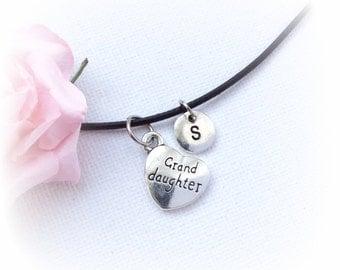 granddaughter Necklace, granddaughter gift, granddaughter Jewellery, granddaughter Charm Jewelry, granddaughter, handmade necklace,SPLCINGD1