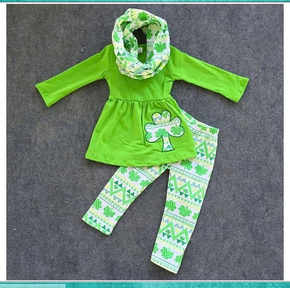 Girls St Patricks Day Outfit Baby Girl St by
