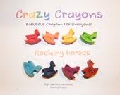 Rocking Horse Crayons! Set of 8