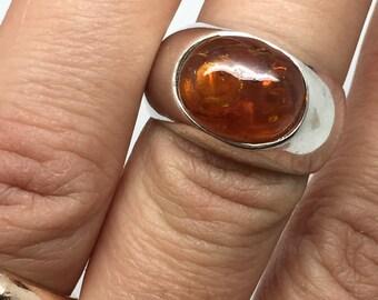 silver amber ring,amber ring,silver ring,amber stone,amber jewelry,silver stone ring,stone ring,gemstone ring,ethnic ring,boho ring,gypsy