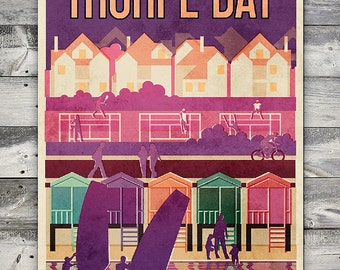 Thorpe Bay - Poster (A4 & A2 sizes)