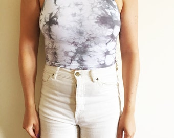 American Apparel, Cotton Crop Top, hand-dyed top, bandeau, urban outfitters, tube top ,gift for her, gypsy, free people, tie dye top