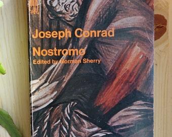 Joseph Conrad - Nostromo paperback // 1974 printing