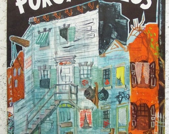 Vintage 1954 'Porgy and Bess' Souvenir Musical Program and Theatre Playbill, Los Angeles Civic Light Opera, George & Ira Gershwin