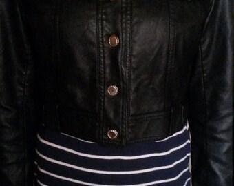 SALE Leather Studded Jacket