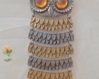 Vintage Park Lane Owl Necklace
