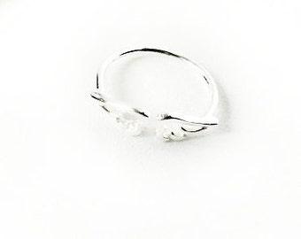 Angel Wings Ring - Angel Wings Jewelry - Sterling Silver Wings Ring