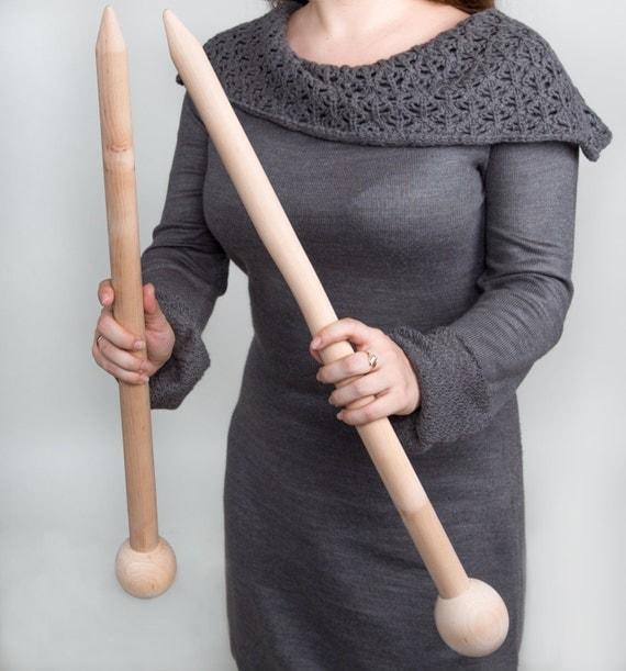Knitting Needles Mm Vs Us : Us size mm cm  wooden knitting needles