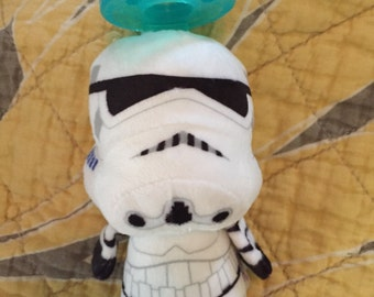 Star Wars Storm Trooper Wubba Pacifier