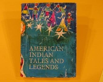 AMERICAN INDIAN Tales and Legends vintage Vladimir Hulpach Miloslav Troup George Theiner 1967 hardback collection of  Nice!!