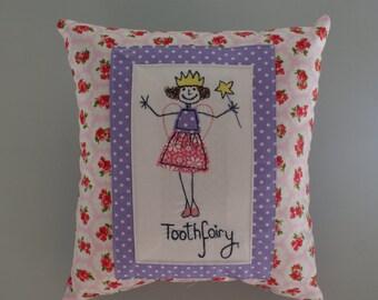 girls handmade toothcushion