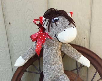 Stuffed Sock Horse
