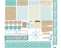 November Sparkle PRINTABLE Stickers for Erin Condren, The Happy Planner, Inkwell, Filofax, Kikki K, Plumplanner,ECLP, Cricut Silhouette File
