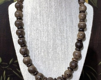 23'' African Bead Necklace.