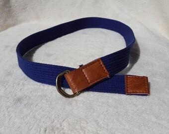 Purple Vintage Belt, Womens Belt, Dark Purple Belt, Womens Vintage Belt, Vintage Belt, Small Belt, Ladies Belt, Ladies Small Belt,