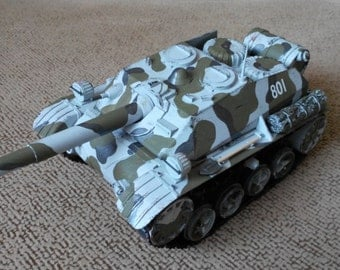 Tank - model from the paper.