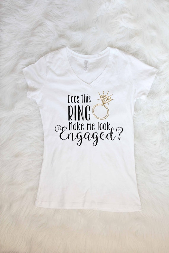 Does this ring make me look engaged tee