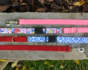 Choose Any Leash- Made From Any Fabric in the Collection